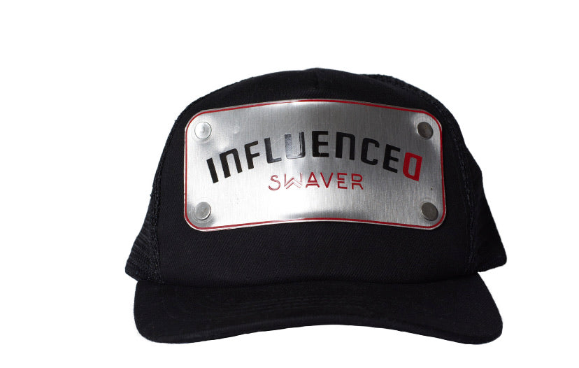 Swaver Silver Metal Plated Trucker - Swaver Accessories
