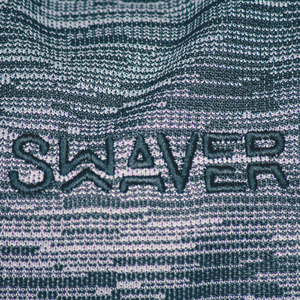 Swaver Knitted Grey & Black Barrel Bag - Swaver Accessories