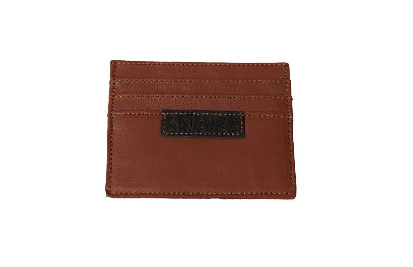 Swaver Brown Leather Wallet - Swaver Accessories