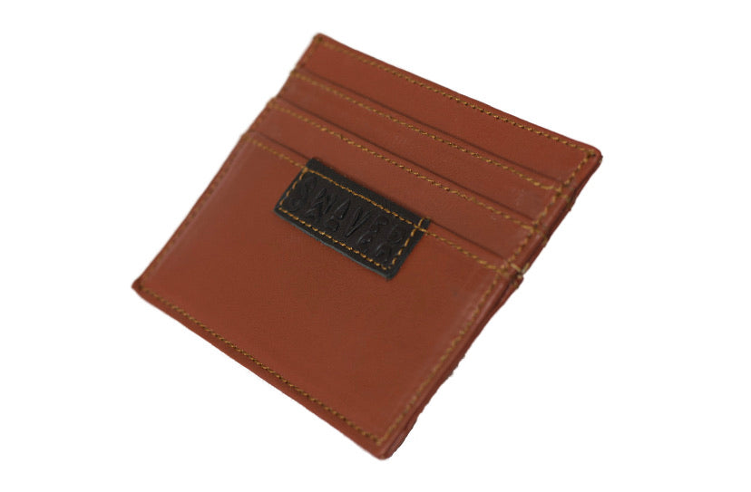 Swaver Tan Leather Wallet - Swaver Accessories