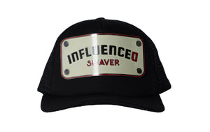 Swaver Off White Metal Plated Trucker - Swaver Accessories