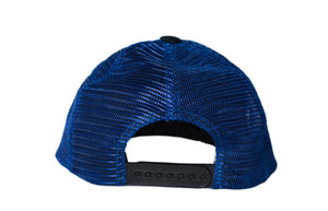 Swaver Navy Blue Diced Metal Plated Trucker - Swaver Accessories