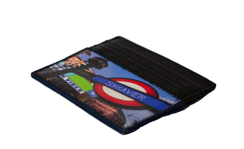 Swaver Picadelly Circus Canvas Wallet - Swaver Accessories