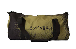 Swaver Khaki Splash Barrel Bag - Swaver Accessories