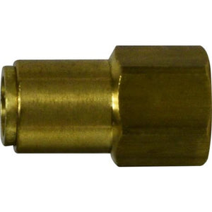 "1/2"" Tube x 1/2"" Female NPTF DOT Push In Connector"