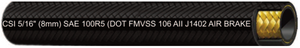 "3/16"" SAE 100R5 Textile Covered Hydraulic Hose⎪SAE J1402⎪DOT FMVSS 106"