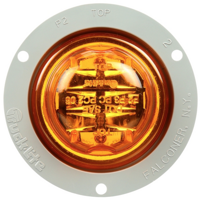 Truck-Lite 10379Y Amber LED Marker Clearance w/Flange