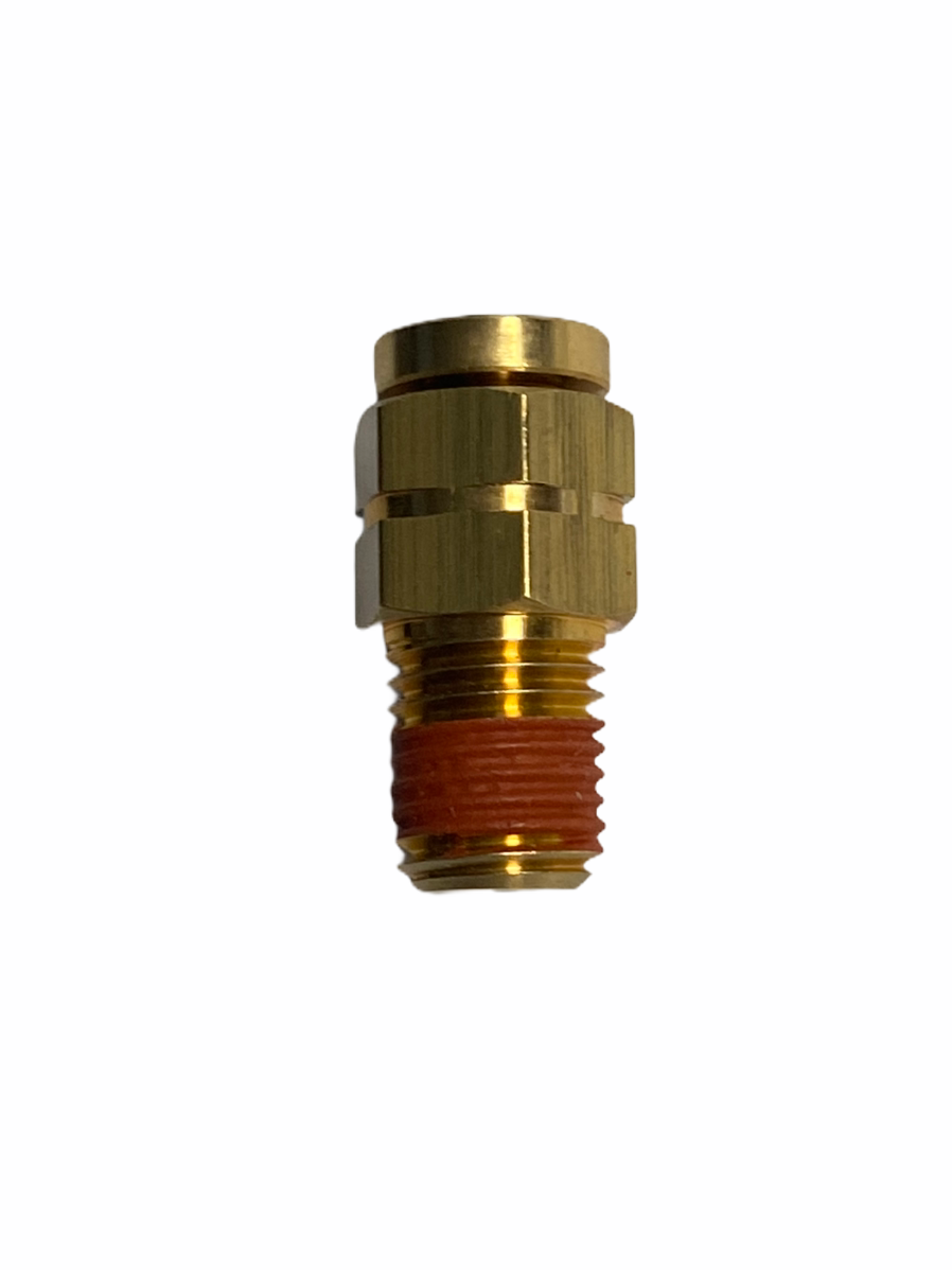 DOT Approved 1/8 x 1/16 Male Connector | Push to Connect