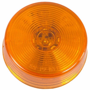 "Amber 2 1/2"" Round LED Marker Light"