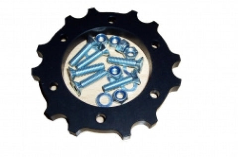 RBS-V1 Rear Brake Disc Support Black
