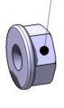 Bumper Bolt Flanged Nut