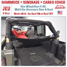 Load image into Gallery viewer, JKloud Hammock fitted for Jeep Wrangler JK 4 Door - [Jeep Gear]