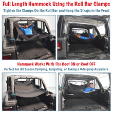 Load image into Gallery viewer, JKloud Hammock fitted for Jeep Wrangler JL 4 Door - [Jeep Gear]