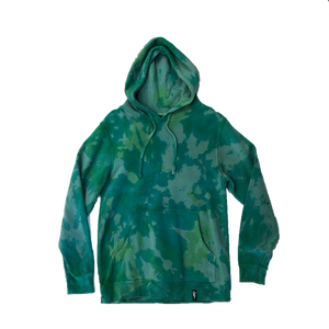 Caakes Tie Dye Hoodie (color of the wind)