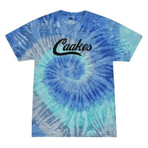 Tie Dye Blue Jerry Adult T Shirt