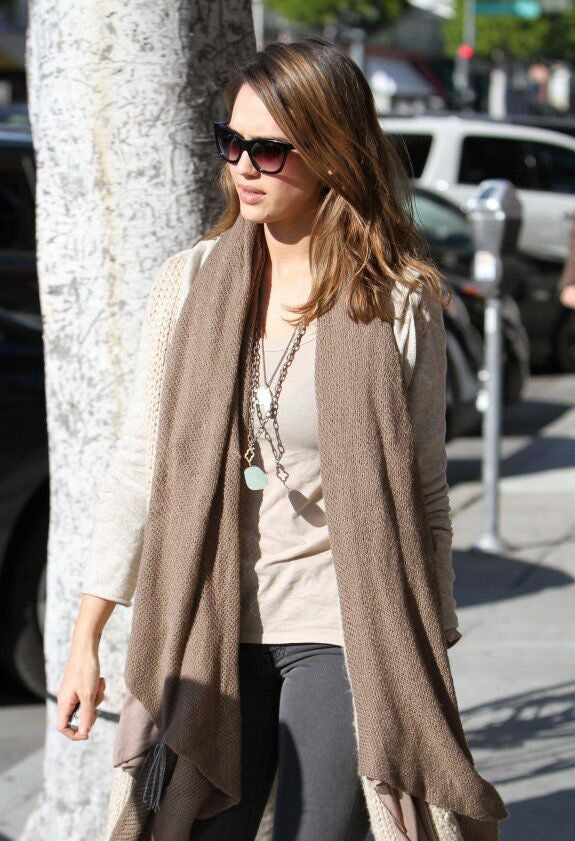 Worn by Jessica Alba