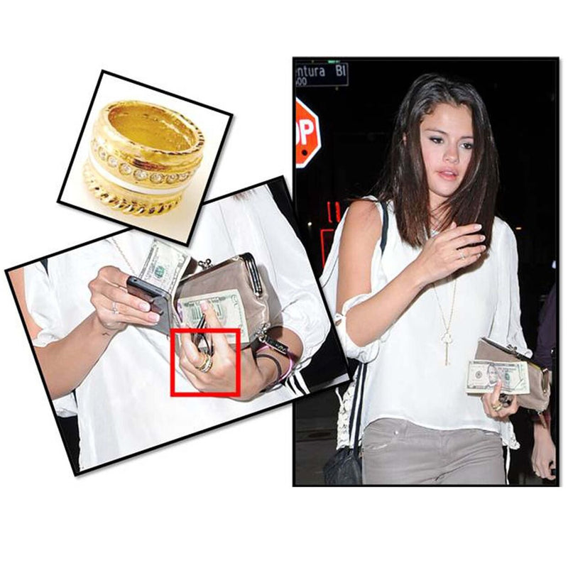 Worn by Selena Gomez