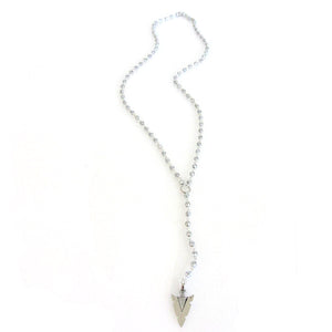 "Arrowhead ""Rosary"" Necklace"