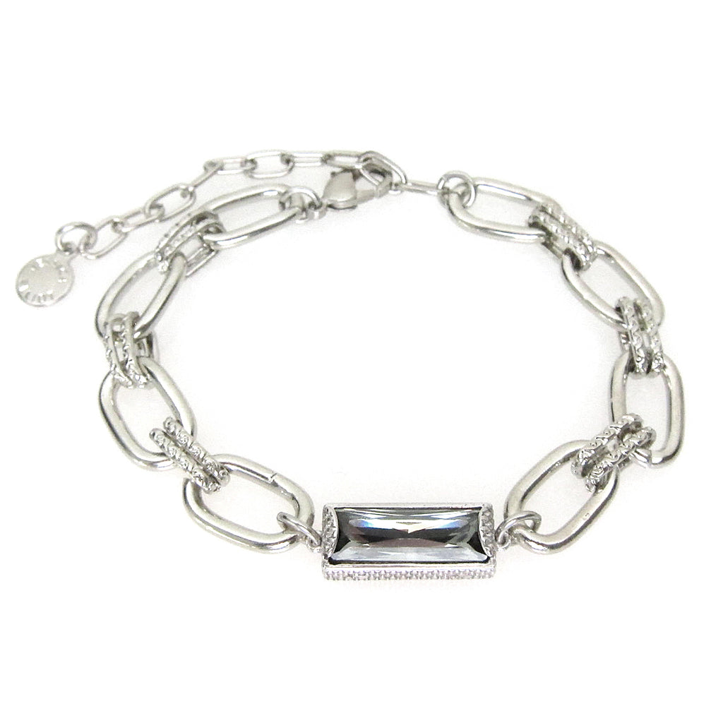 Denmark Collection Swarovski Baguette Bracelet