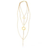 Eternity Circle All-In-One Harness Necklace