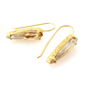 "Florentine ""Raindrop"" Ear Wires"