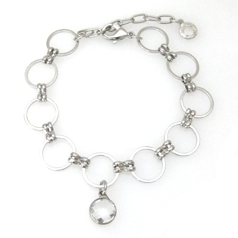 Eclipse Collection Circle Bracelet With Charm