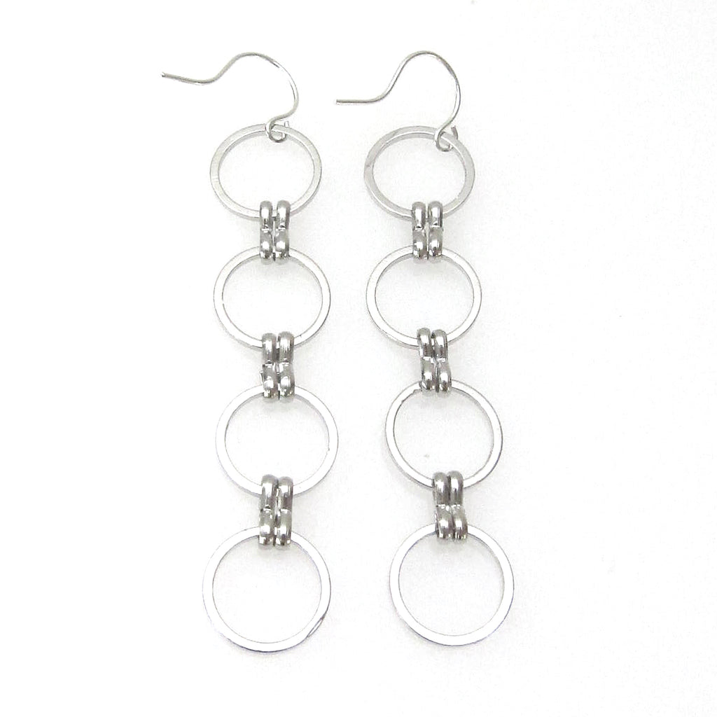 Eclipse Collection Circle Earring