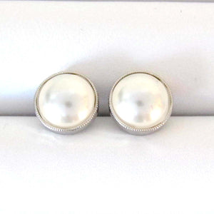 Zamora Studs with Swarovski Pearls