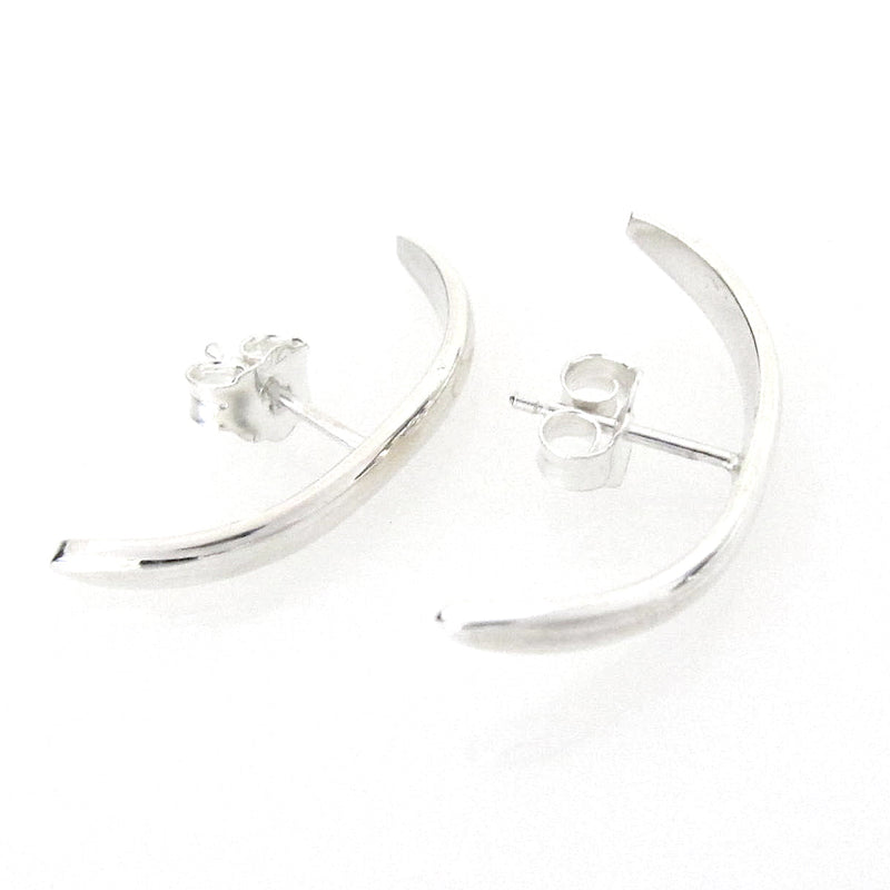 Sterling Silver Mia Front Cuff Earring