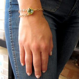 Florentine Collection Cushion Cut Bracelet