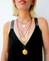 """Heritage"" Coin Triple necklace"