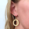 Eternity Circle Large Earrings