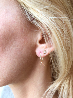 Small Sterling Silver and Gold-Filled Nikki Ear Wires