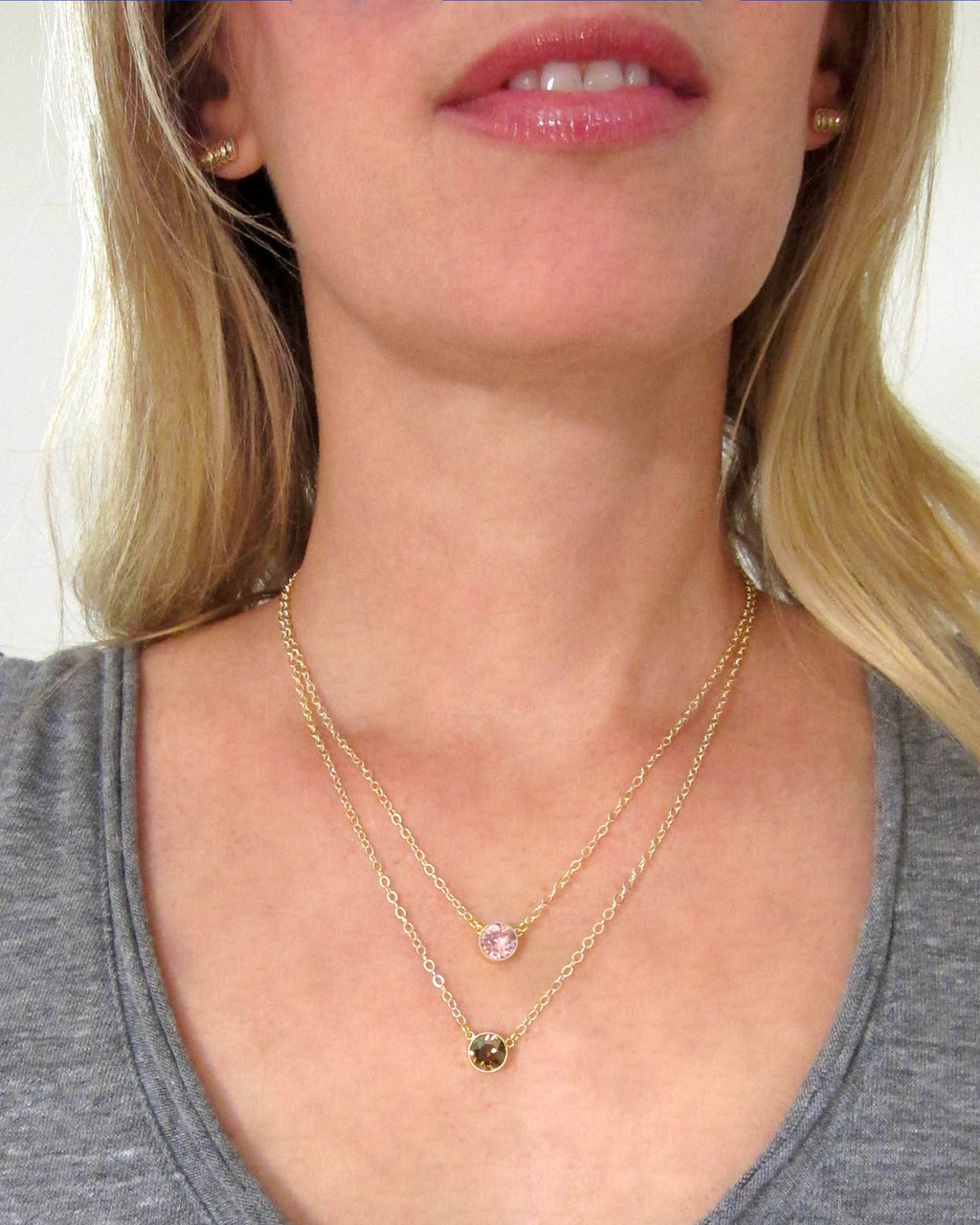 JE Classic Collection Sophie Necklace with Swarovski Crystal