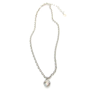 JE Classic Collection Swarovski Round Solitaire Choker