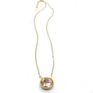 JE Classic Collection Lily Pendant with Swarovski Crystal