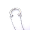 "JE Classic ""Hidden"" Swarovski Horseshoe Necklace"
