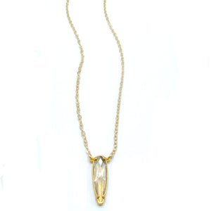 "Florentine ""Raindrop"" Pendant Necklace"