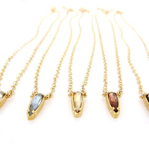 "Florentine Mini ""Raindrop"" Pendant Necklace"