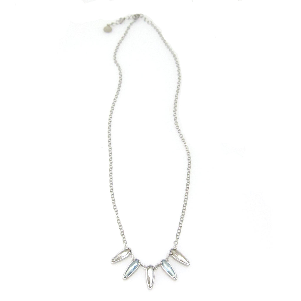 "Florentine Mini ""Raindrop"" Cluster Necklace"