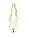 Florentine Collection Multi-Layered Long Kite Necklace