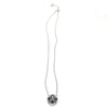 Florentine Collection Cushion Cut Pendant Necklace