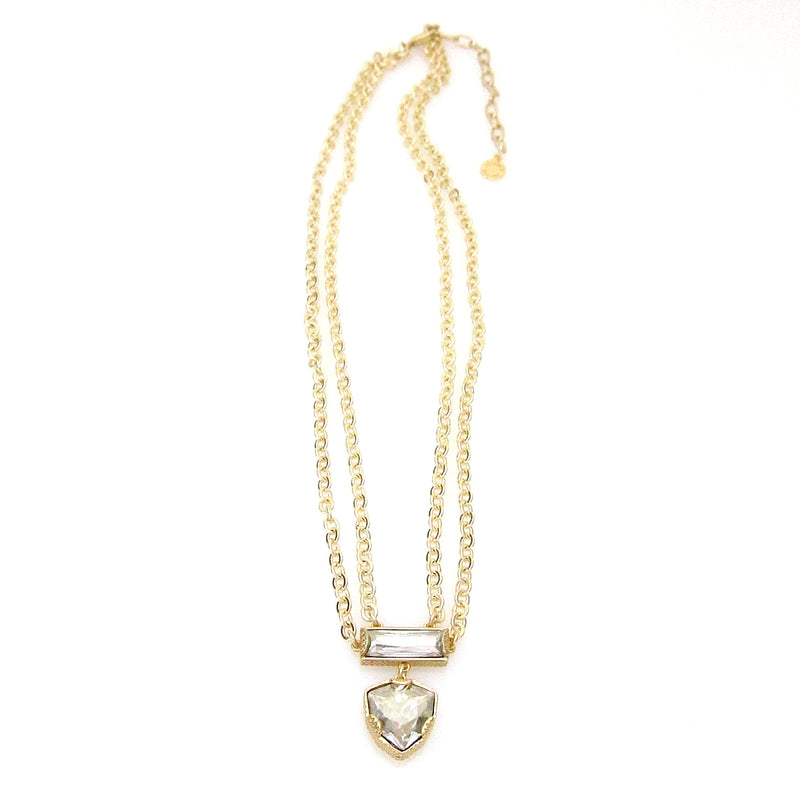 Denmark Collection Swarovski Combo Necklace