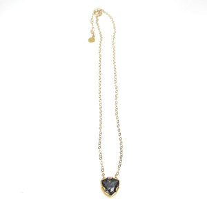 Denmark Collection Swarovski Trilliant Cut Pendant Necklace
