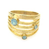 """JE Classic Collection"" All-in-One Stackable ring with Swarovski Crystal"