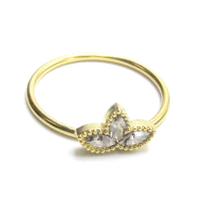 Sterling Silver Lotus Blossom Ring
