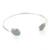 "The ""Riley"" Swarovski Pave Wire Bracelet"