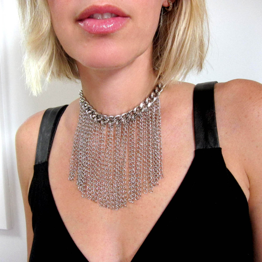 The Perfect Fringe Choker