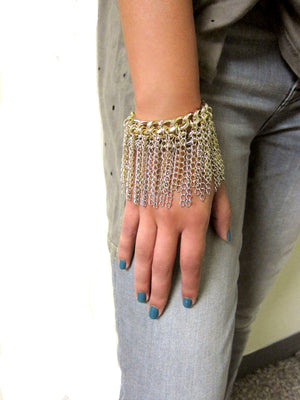 The Perfect Fringe Bracelet
