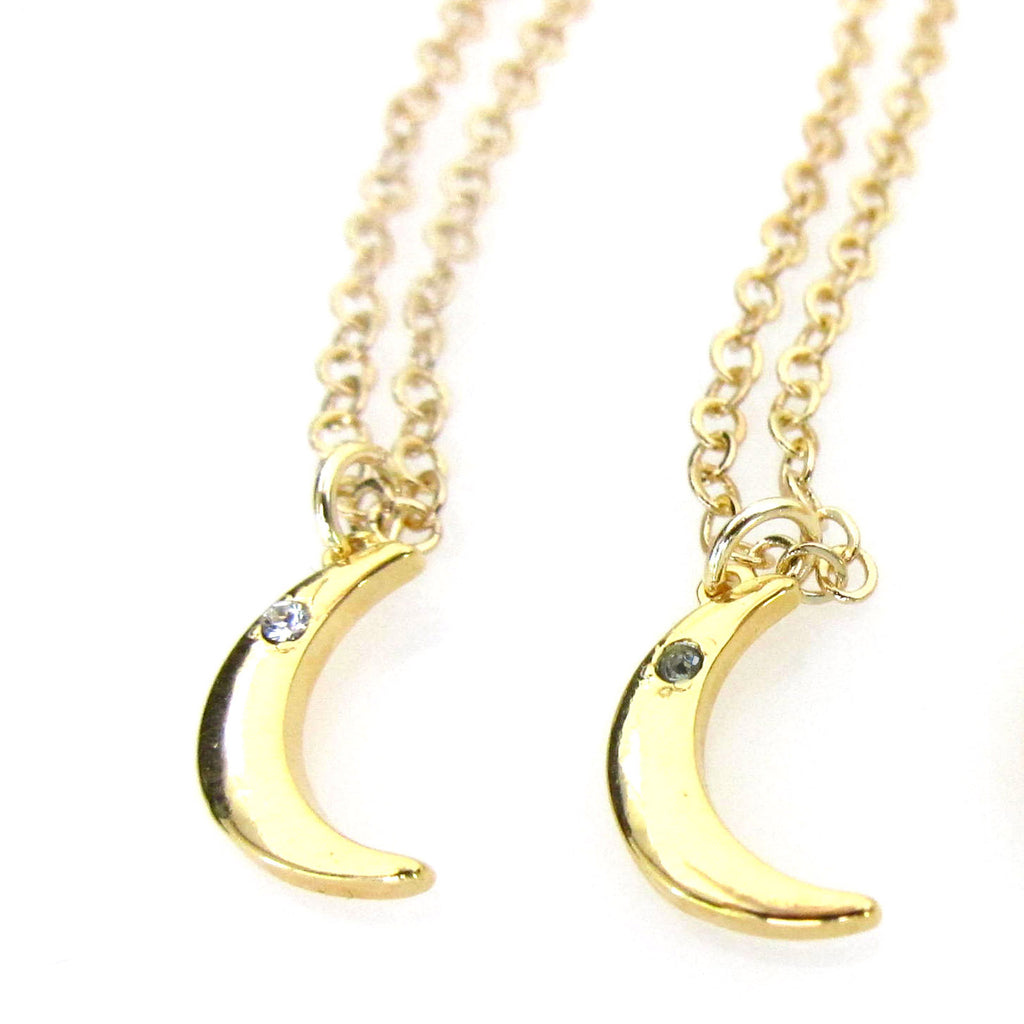 Celestial Collection Mini Moon Pendant Necklace